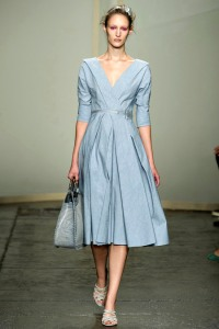 Donna Karan dress with interesting collar