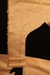 "Cut away 1/4"" from foldline, fold under, stitch."