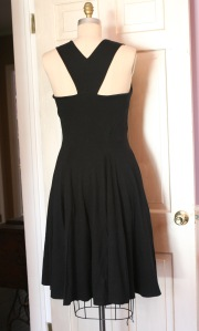 back view, with  Breakfast At Tiffany's neckline
