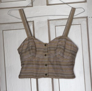 bustier that I made last summer