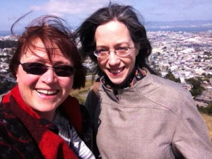Shams and me at Twin Peaks