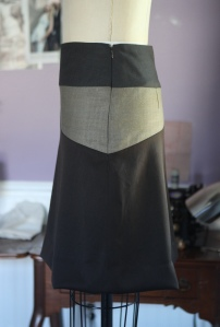 side with zipper