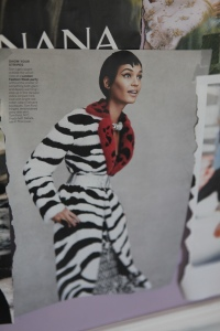 Photo of the Vogue photo that my daughter saw