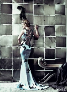 Inspiration garment, as seen in Vogue