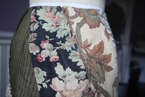 diagonal zipper
