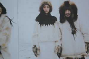 a stunning take on the round-yoke Nordic sweater