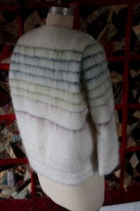 back view.  You can see the pleat at the shoulder that gives the jacket an interesting shape.