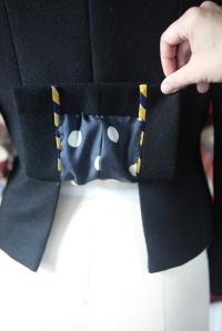 back lining